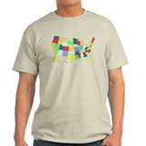 Unites States map t-shirt