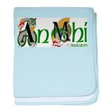 Meath Dragon (Gaelic) baby blanket