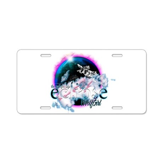 Twilight WolfGirl Aluminum License Plate
