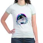 Twilight WolfGirl Jr. Ringer T-Shirt