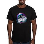 Twilight WolfGirl Men's Fitted T-Shirt (dark)