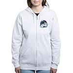 Twilight WolfGirl Women's Zip Hoodie