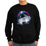 Twilight WolfGirl Sweatshirt (dark)