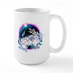 Twilight WolfGirl Large Mug