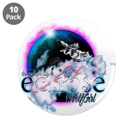 "Twilight WolfGirl 3.5"" Button (10 pack)"
