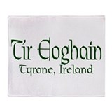County Tyrone (Gaelic) Throw Blanket
