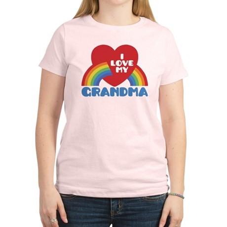 I Love My Grandma Women's Light T-Shirt