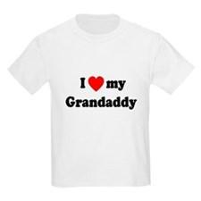 I Love My Grandaddy T-Shirt