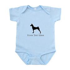 Basenji - Your Text! Infant Bodysuit