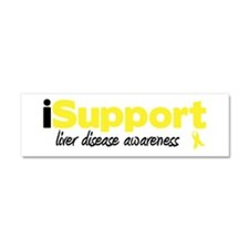 iSupport Liver Disease Car Magnet 10 x 3