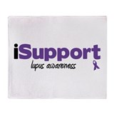 iSupport Lupus Throw Blanket