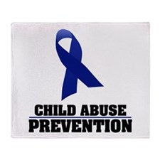 CA Prevention Throw Blanket