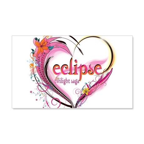 Eclipse Heart 22x14 Wall Peel