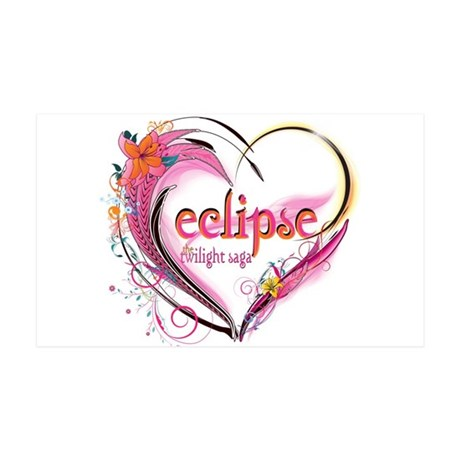 Eclipse Heart 38.5 x 24.5 Wall Peel