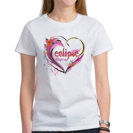 Eclipse Heart Women's T-Shirt