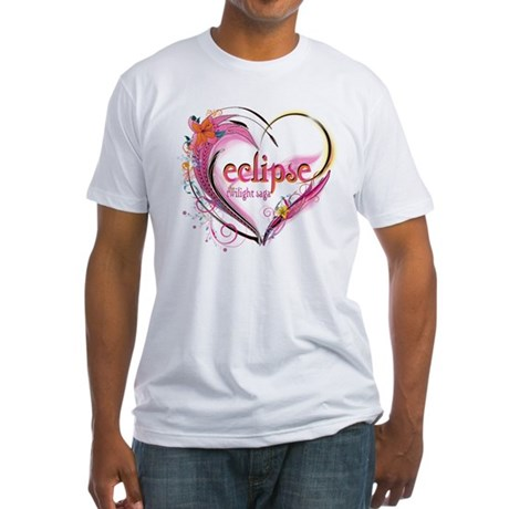 Eclipse Heart Fitted T-Shirt
