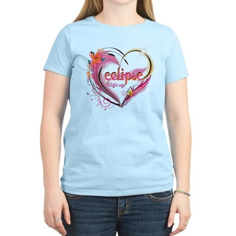 Eclipse Heart Women's Light T-Shirt