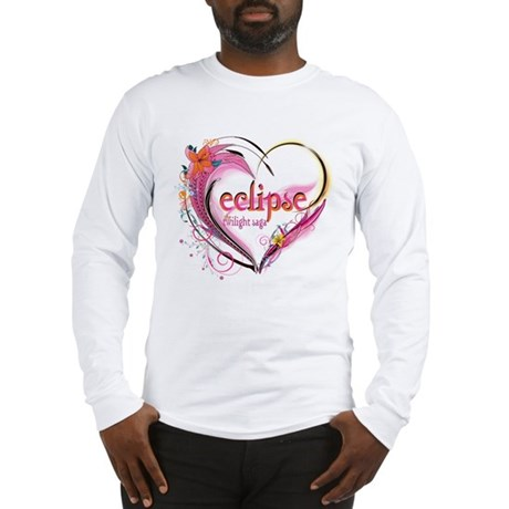 Eclipse Heart Long Sleeve T-Shirt