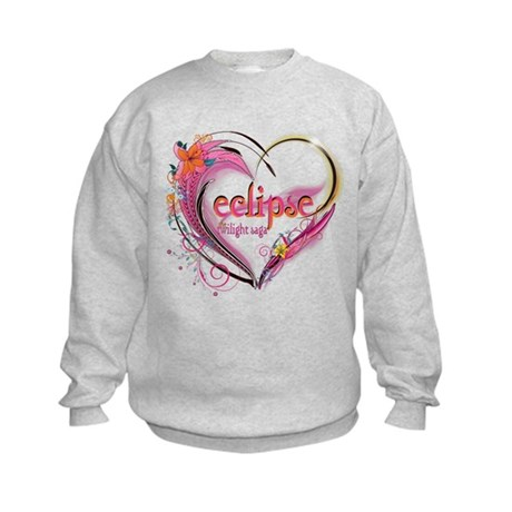 Eclipse Heart Kids Sweatshirt