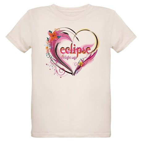 Eclipse Heart Organic Kids T-Shirt