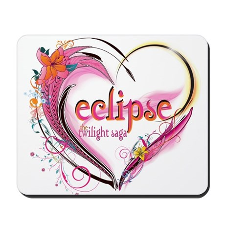 Eclipse Heart Mousepad
