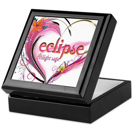 Eclipse Heart Keepsake Box