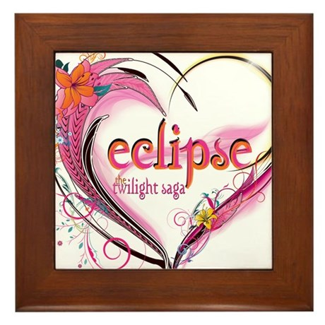 Eclipse Heart Framed Tile