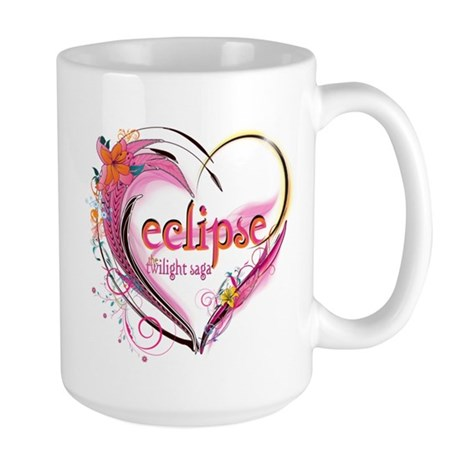 Eclipse Heart Large Mug