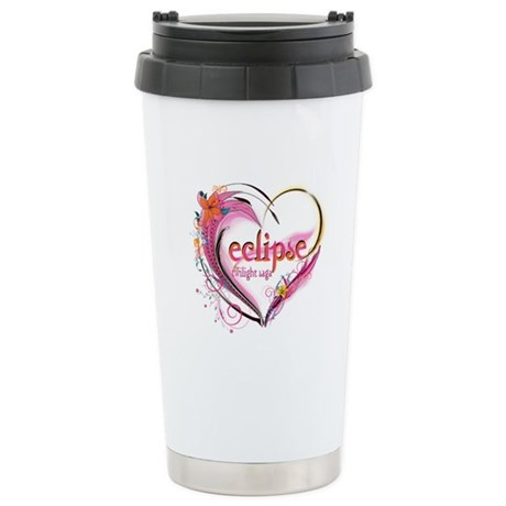 Eclipse Heart Stainless Steel Travel Mug