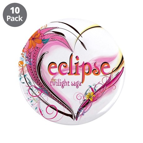"Eclipse Heart 3.5"" Button (10 pack)"