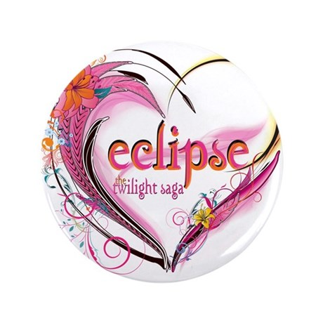 "Eclipse Heart 3.5"" Button (100 pack)"
