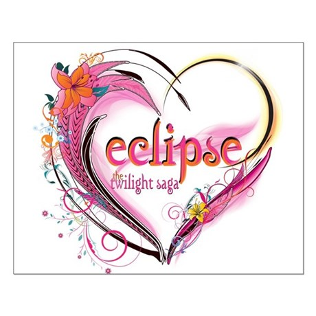 Eclipse Heart Small Poster