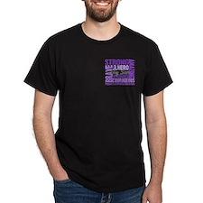 Tribute Square Hodgkin's Lymphoma T-Shirt