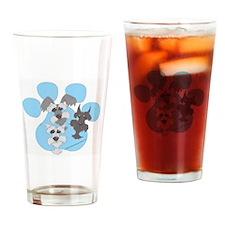 3 Schnauzers Pint Glass
