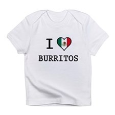 I Love Burritos Infant T-Shirt