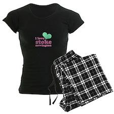 i love stoke newington (green Pajamas