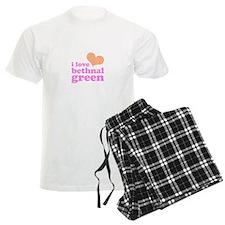 i love bethnal green (orange/ Pajamas