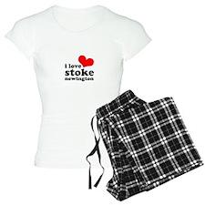 i love stoke newington (red/b Pajamas