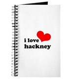 i love hackney (red/black) Journal