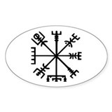 Viking Compass Decal