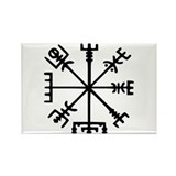 Viking Compass Rectangle Magnet