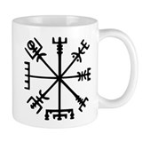 Viking Compass Small Mugs