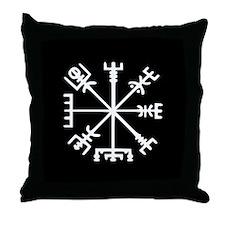 Viking Compass : Vegvisir Throw Pillow
