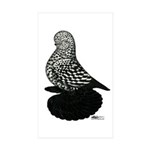 Splash Tumbler Pigeon Sticker (Rectangle 10 pk)