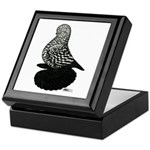 Splash Tumbler Pigeon Keepsake Box