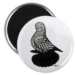 "Splash Tumbler Pigeon 2.25"" Magnet (10 pack)"