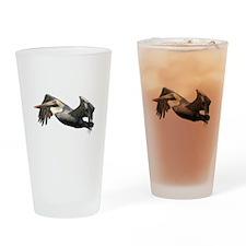 Pelican Flying Pint Glass