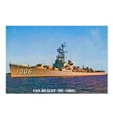 USS DEALEY Postcards (Package of 8)
