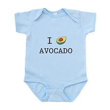 I Love Avocado Infant Bodysuit
