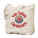 Gun Toting Carnivore Seal Tote Bag